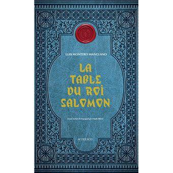La table du roi salomon broch luis montero manglano - La table du comtat seguret 84 ...