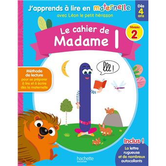 Le Cahier De Madame L Niv 2