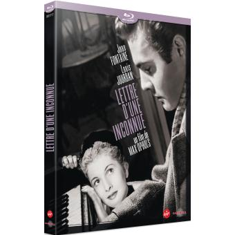 Lettre d'une inconnue Blu-Ray
