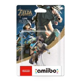 Figurine amiibo the legend of zelda link rider jeux for Achat maison zelda