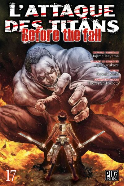 L'Attaque des Titans - Before the Fall T17 - 9782811651367 - 4,49 €