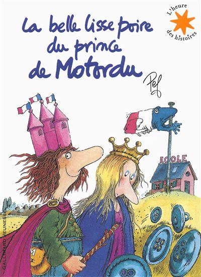 Motordu - Livre avec un CD audio : La belle lisse poire du prince Motordu