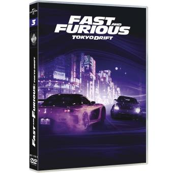 fast and furious fast and furious 3 dvd zone 2 justin lin lucas black sung kang toutes. Black Bedroom Furniture Sets. Home Design Ideas
