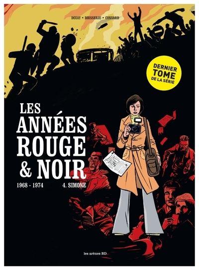 Les Années rouge et noir tome 4 : Simone