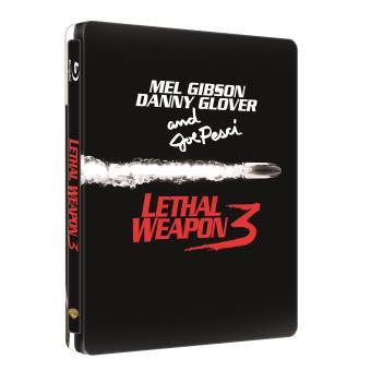 L'Arme fatale 3 Steelbook Blu-ray