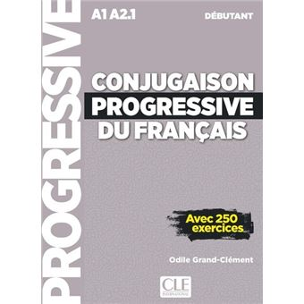 Conjugaison Progressive Debutant Cd Audio Nc