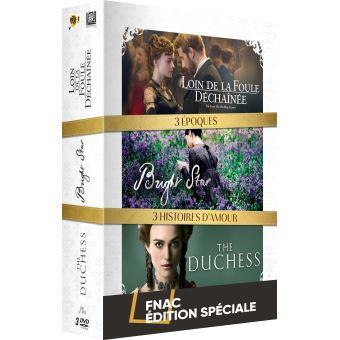 Coffret Loin de la foule déchaînée, The duchess et Bright Star Edition Spéciale Fnac DVD