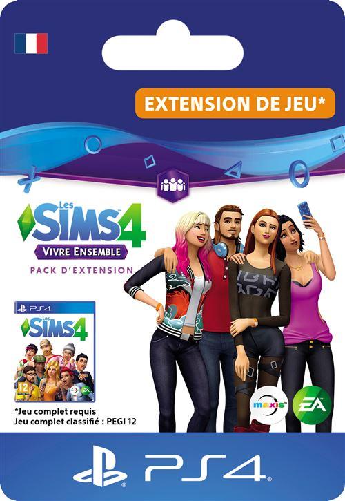 Code de téléchargement Les Sims 4 Vivre ensemble Extension de jeu