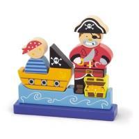 Puzzle 3D Magnétique 9 Pièces Ambi toys Pirates