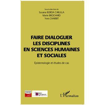 Faire dialoguer les disciplines en sciences humaines