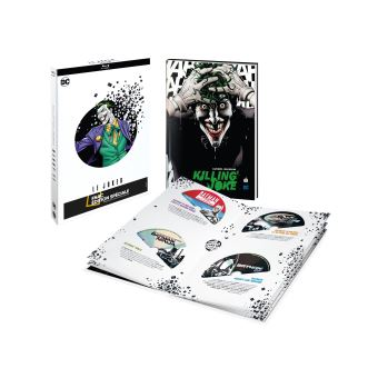BatmanCoffret Le Joker 8 films animés Edition Spéciale Fnac Blu-ray