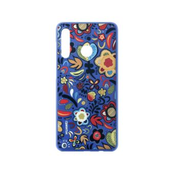 Huawei P30 Lite PC Cover Floral Blue