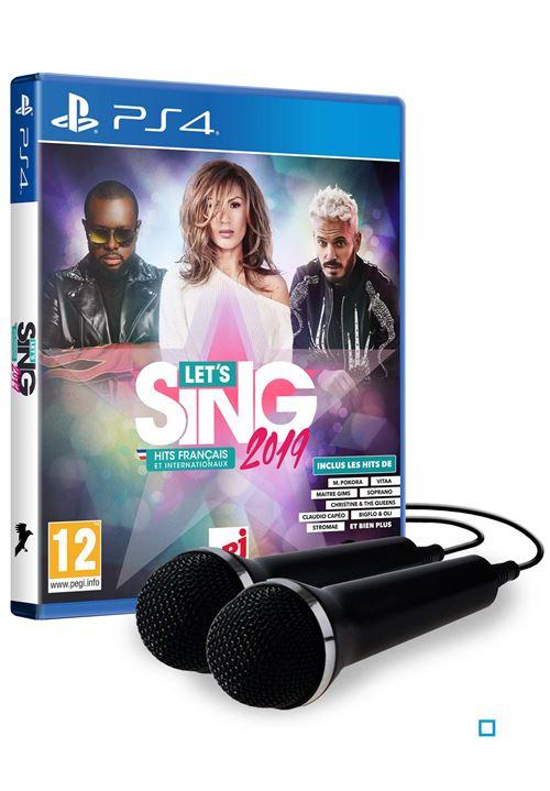 Let's Sing 2019 Hits français et internationaux PS4 + 2 micros