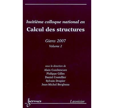 Calcul des structures volume 1 huitiemecolloque national gie