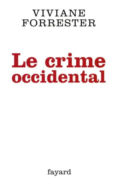 Le crime occidental - 9782213669953 - 11,99 €
