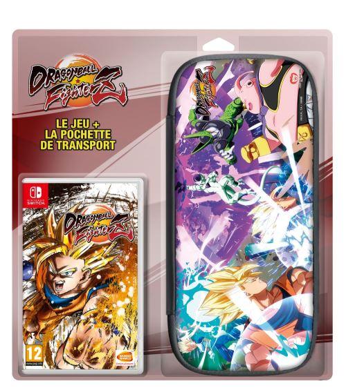Dragon Ball Fighter Z Nintendo Switch + Housse de transport pour console