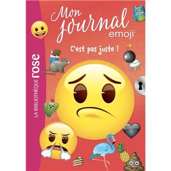 Emoji Tm Mon Journal Tome 4 C Est Pas Juste