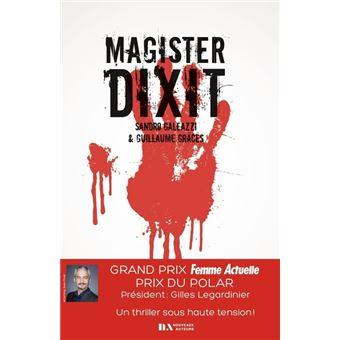 Magister Dixit - Grand prix Femme Actuelle 2020 : prix du Polar