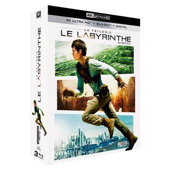 L'épreuveLe Labyrinthe La Trilogie Coffret Blu-ray 4K Ultra HD