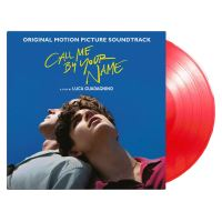Call Me By Your Name Edition Limitée Vinyle Rouge Transparent