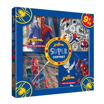 MarvelHistoire, activités, stickers, puzzles