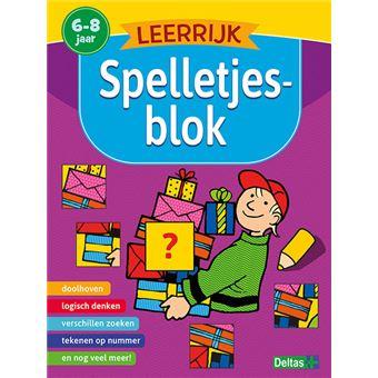Leerrijk spelletjesblok (6-8 j.)