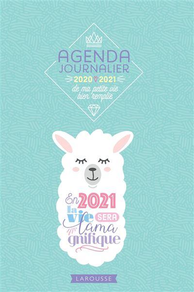Agenda journalier de ma petite vie bien remplie 2020-2021