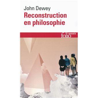 dewey reconstruction in philosophy pdf
