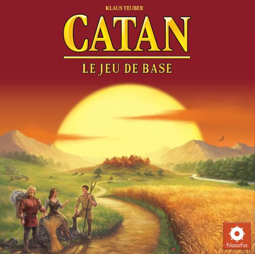 Le Jeu de Base Asmodee Strategie Catan 3//4 joueurs