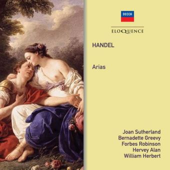 Georg Friedrich Händel, Joan Sutherland, Bernadette Greevy, Forbes Robinson