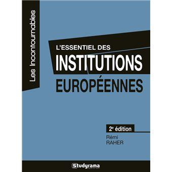 L'essentiel des institutions européennes