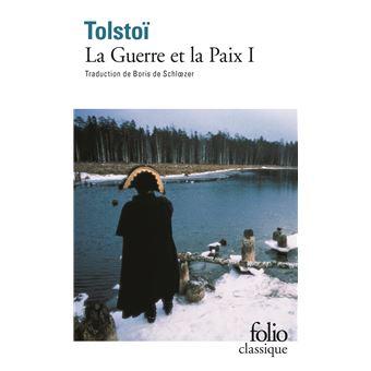"""Résultat de recherche d'images pour """"guerre et paix tolstoi folio"""""""