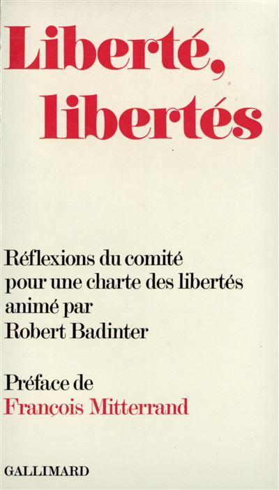 Liberté, libertés