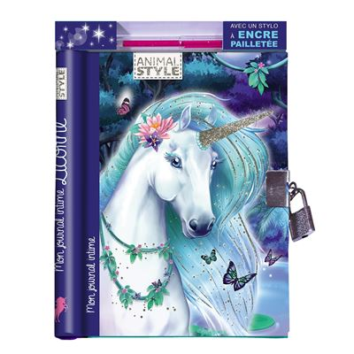 Journal intime Licorne - Play Bac Eds