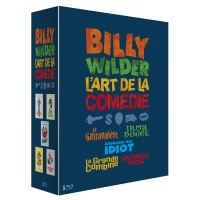 Coffret Wilder L'art de la comédie 5 Films Blu-ray