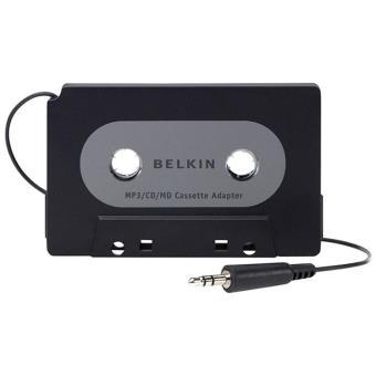 Adaptateur à cassette Belkin F8V366BT pour lecteurs MP3