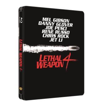 L'Arme fatale 4 Steelbook Blu-ray