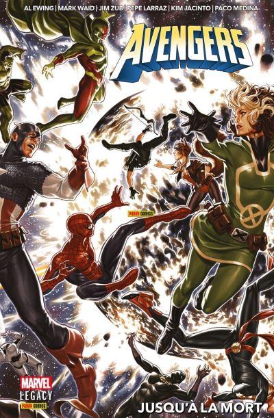 Avengers : Jusqu'à la mort - 9782809488807 - 20,99 €