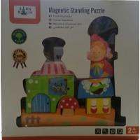 Puzzle Magnétique 3D 8p Petit Chaperon Rouge Asa Toys