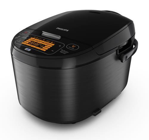 Multicuiseur connecté au Wi-Fi Philips Avance Collection HD3198/77 860 W 5 L Noir