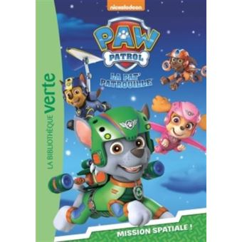 pat 39 patrouille tome 5 paw patrol la pat 39 patrouille 05 mission spatiale nickelodeon. Black Bedroom Furniture Sets. Home Design Ideas