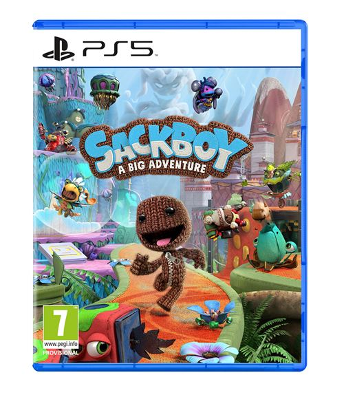 Sackboy : a big adventure PS5