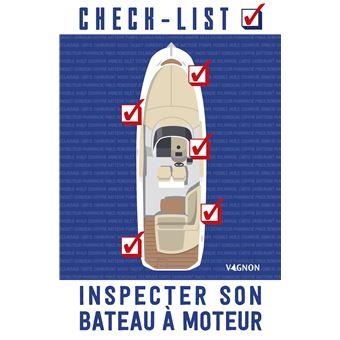 Check-list inspecter son bateau a moteur