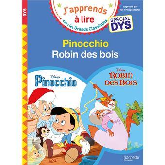Sami et JuliePinocchio/Robin des Bois - Lectures Disney Spéciales DYS
