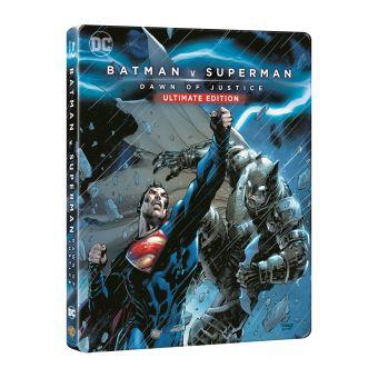 SupermanBatman V Superman : L'aube de la justice Steelbook Blu-ray
