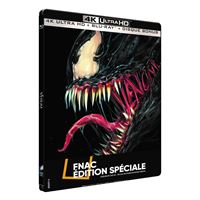 Venom Steelbook Edition Fnac Blu-ray 4K Ultra HD