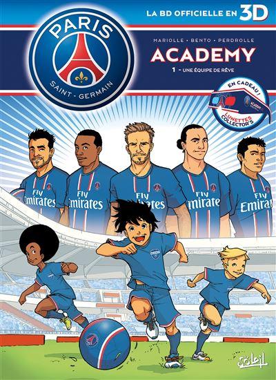 Paris Saint-Germain Academy T01 en 3D