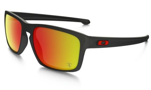5de19f6cd4b7f4 Lunettes de soleil Oakley Sliver Scuderia Ferrari Collection Noire et rouge  - Lunettes - Equipements sportifs   fnac