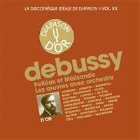 La discothèque idéale de Diapason Volume 20 Pelléas et Mélisande Les œuvres avec orchestre