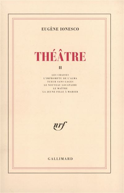 Théâtre (Tome 2)